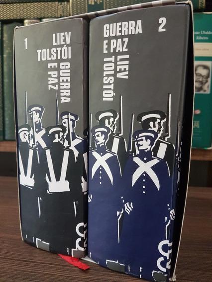 Guerra E Paz - Leon Tolstói - Cosacnaify - 2 Volumes
