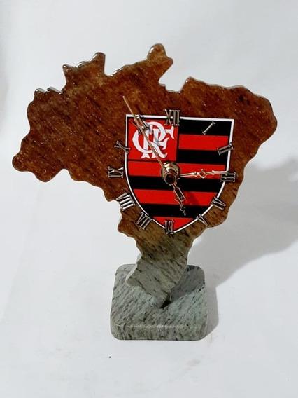 Relógio Do Flamengo De Pedra Sabão