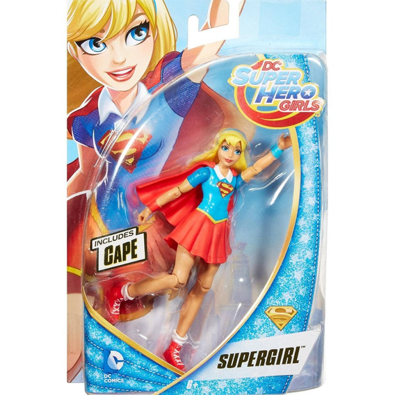 Dc Super Hero Girls - Boneca Supergirl - Figura De Ação Dmm3
