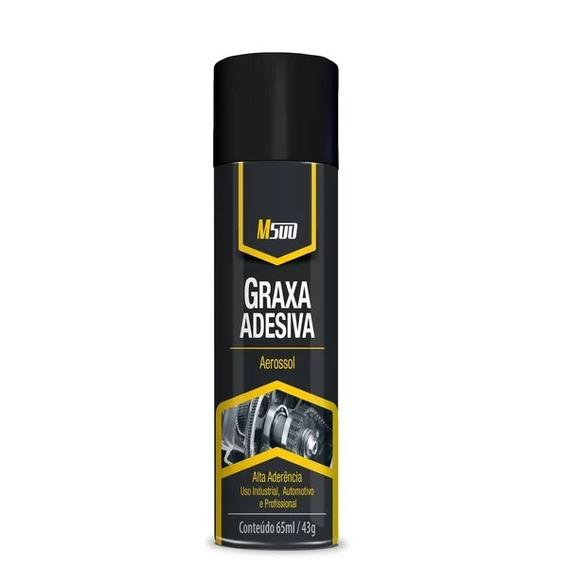 Graxa Adesiva Spray M500 Baston Brasil Alta Aderencia 200ml