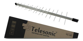 Antena Digital Externa Log 38 Elementos Uhf/hdtv Tsu 1350*