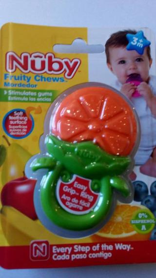 Mordedor Rasca Encías Bebes Nuby Fruity Chews Nuevo