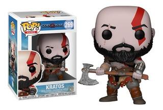 Pop! Games: God Of War - Kratos (bearded) - Nuevo