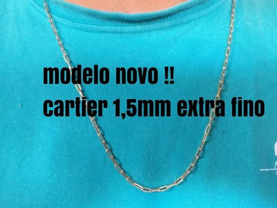 Cordão Cartier 1,5mm Feitos Em Moeda Antigas !! Novidade