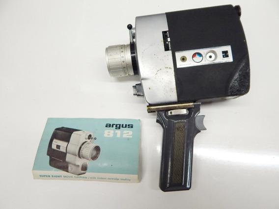 Câmera 8mm - De Cinema Com Manual E Bolsa Original