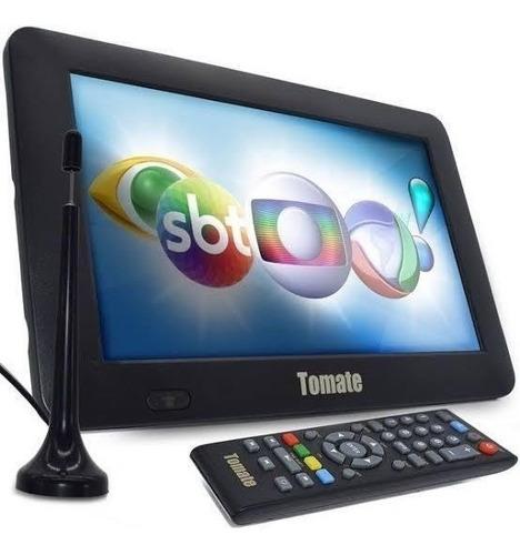 Tv 7 Led  Polegadas Digital Caminhão Viagens Controle Remoto