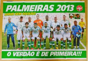 Poster Do Palmeiras - Campeão Série B 2013 (2)