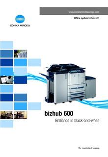Fotocopiadora De Gran Volumen De Copias Konica Minolta Bz600