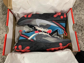Sneakers Nike React 87 Blue Chill Solar Red (originales)