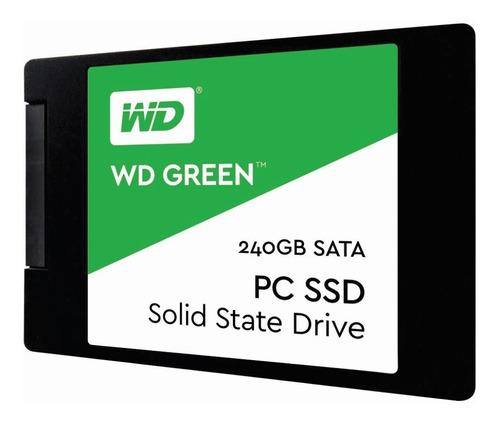 Imagen 1 de 4 de Disco Solido Ssd 240gb Wd Western Digital Green 2.5 Mg