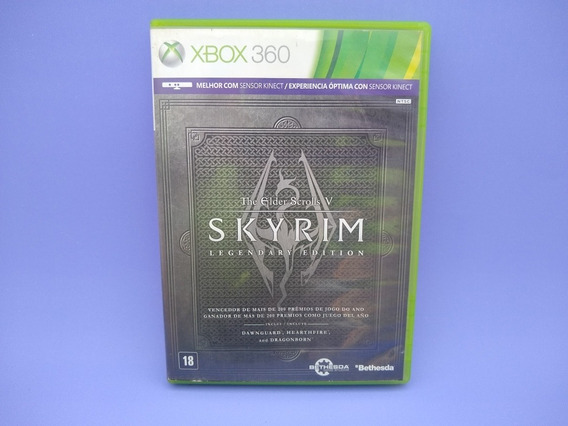 Skyrim Legendary Edition Xbox 360