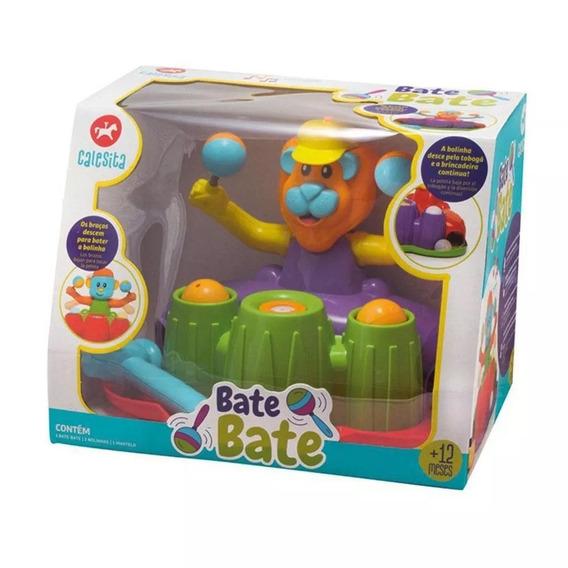 Brinquedo Bate Bate Com Som Colorido 12 Meses Calesita