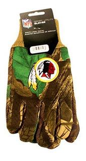 Guantes Camo Washington Redskins Nfl Importados
