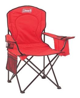 Cadeira Dobrável Com Cooler Vermelha - Coleman