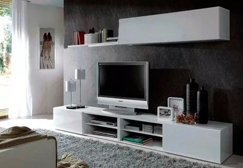 Imagen 1 de 5 de Mesa Lcd Led Smart Tv Rack Modular Hasta Tv 65 En Cuotas!!!