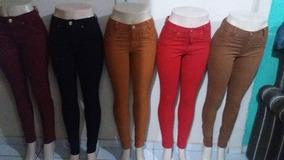 15 Calças Jeans Colorida Roupas Femininas Anita 2018 At
