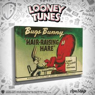 Cuadros Clásicos Looney Tunes 90x60 Bugs Bunny Gossamer