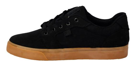 Tênis Dc Shoes Anvil Tx Preto/caramelo Original