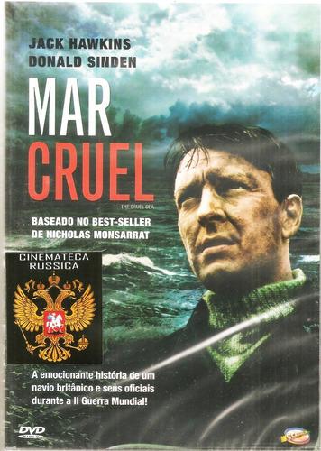 Dvd Mar Cruel, Jack Hawkins, Preto E Branc, Guerra, 1953 +