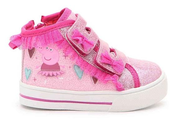 Zapato Botas Peppa Pig Con Luces