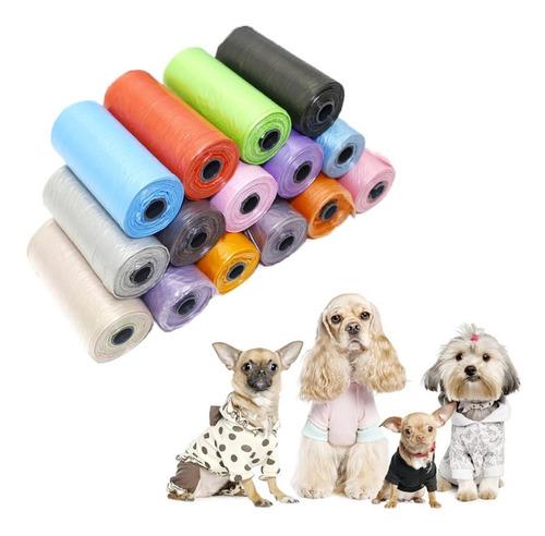 810 Bolsas Biodegradable Para Mascotas (54 Rollos) Mayorista