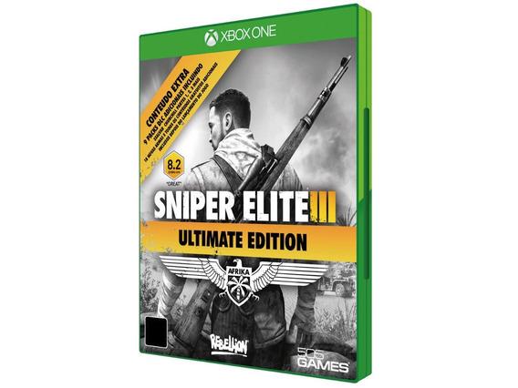 Sniper Elite 3 Ultimate Edition - Xbox One - C/ Frete Grátis