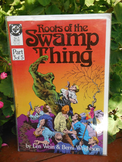 Comic Roots Of The Swamp Thing - Dc (septiembre, 1986)