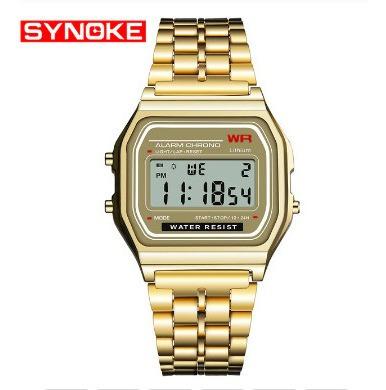 Relógio Synoke - Marca De Luxo - Desing Clássico