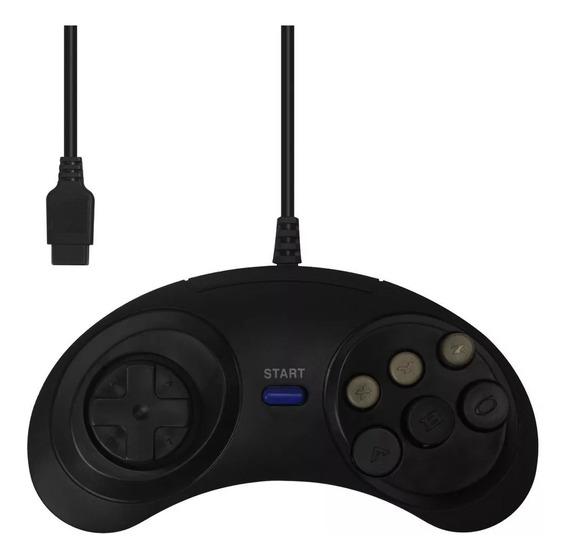 Controle 6 Botões Para Mega Drive Master System