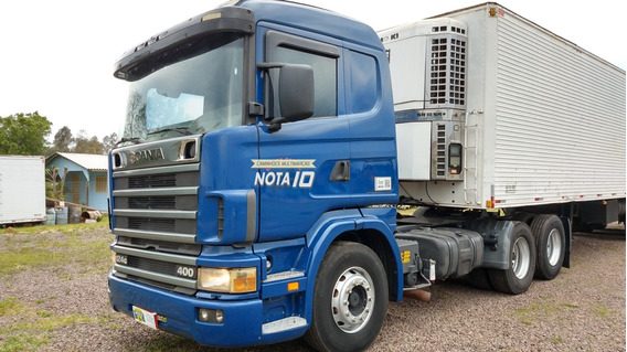 Scania R124 400 6x2 2002 Cavalo Trucado