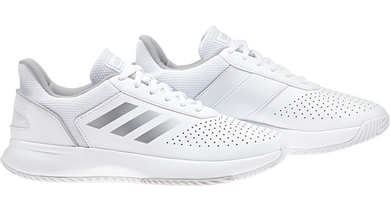 Zapatillas adidas Courtsmash Wns- Ftwbla/plamat/gr - F36262