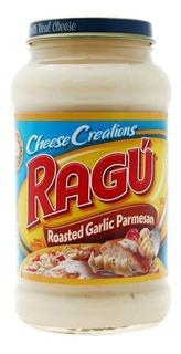 Salsa Ragu Con Ajo Y Queso Parmesano