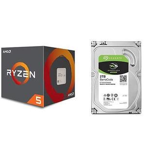 Disco Duro Amd Ryzen 5 1600 Processor With Wraith Spire Cool