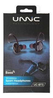 Auriculares Unnic Uc-bt3 Bluetooth Resistente Al Agua