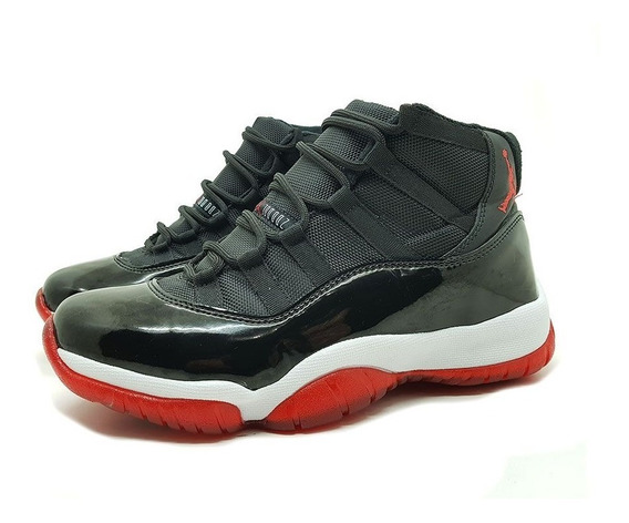 Tênis Importado Nike Air Jordan 11 Bred + Frete Grátis