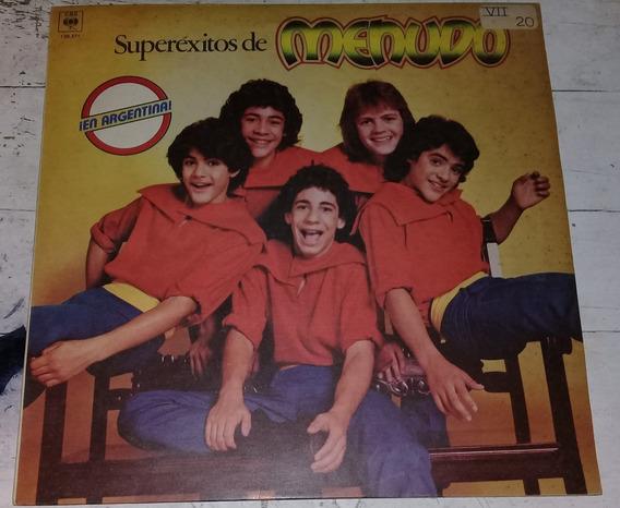Menudo Superexitos De Menudo En Argentina Lp / Kktus