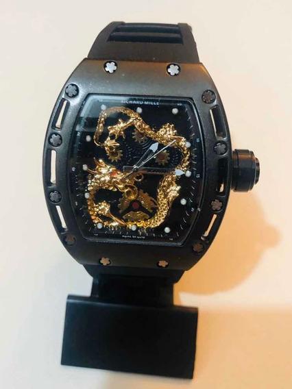 Relógio Pulso Masculino Dragon