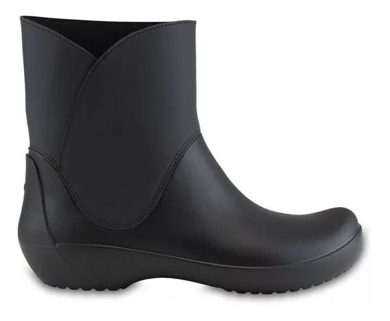 Crocs Bota De Lluvia Rainfloe Bootie Black