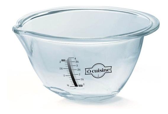 Bowl Batidor 30cm Expert 4,2 Litros Vidrio Ocuisine
