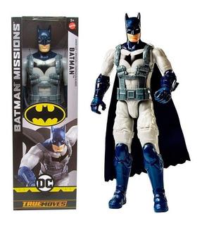 Combo Figuras Dc Truemoves. Batman Con Armadura Y Mr Freeze