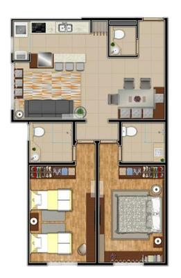 Apartamento 02 Dorm. - Bairro Floresta - A202348