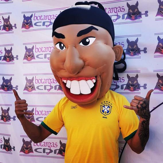 Cabezón Tipo Ronaldinho, Excelente Calidad Ideal Para Entret