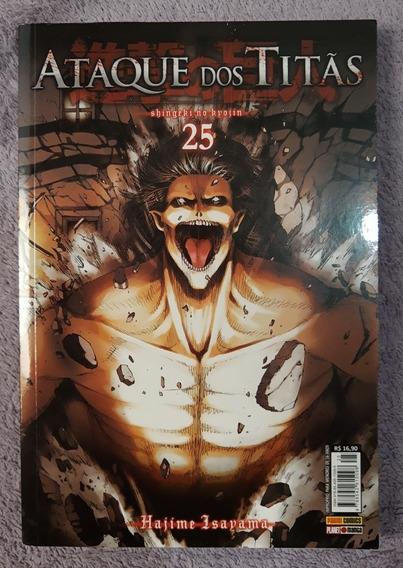 Ataque Dos Titãs - Shingeki No Kyojin - Vol 25
