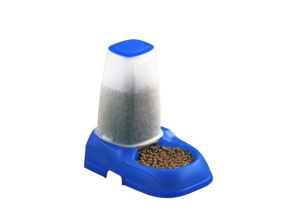 Alimentador Pet 600ml Azul - Batiki