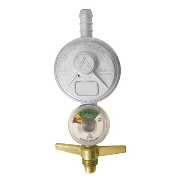 Regulador Gas Alianca Pq.505 Manom. 1un C325520