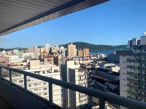 Apartamento Com 2 Dormitórios À Venda, 91 M² Por R$ 490.000 - Boqueirão - Praia Grande/sp - Ap1352