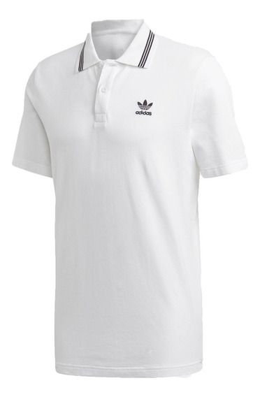 adidas Originals Chomba Lifestyle Hombre Pique Polo Blanco