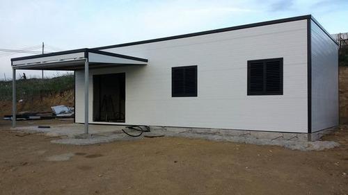 Modulo Casa Habitación Obrador Isopanel 6x3 En 10cm Espesor