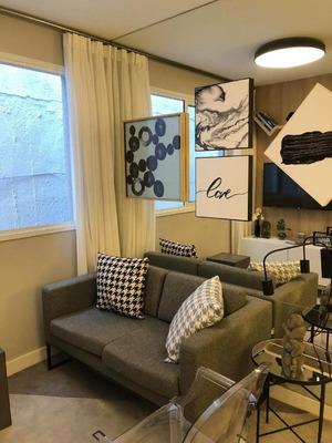 Apartamento Com 2 Dormitórios À Venda, 38 M² Por R$ 215.000 - Liberdade - São Paulo/sp - Ap0765
