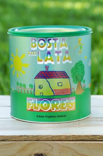 Fertilizante Orgânico Bosta Em Lata Flores - 1,8 Kg